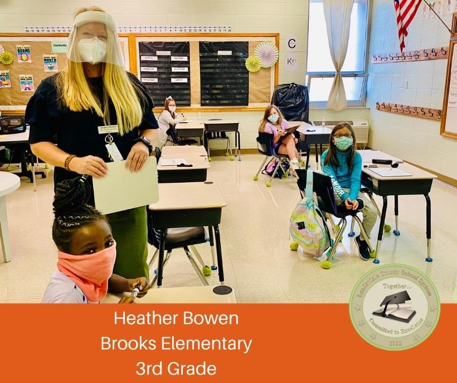 Congratulations to third grade teacher, Mrs. Heather Bowen!