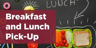 Click the link for important information concerning breakfast and lunch pick-up.