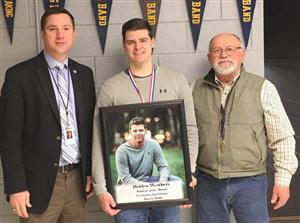 Holden Weathers-March Student of the Month